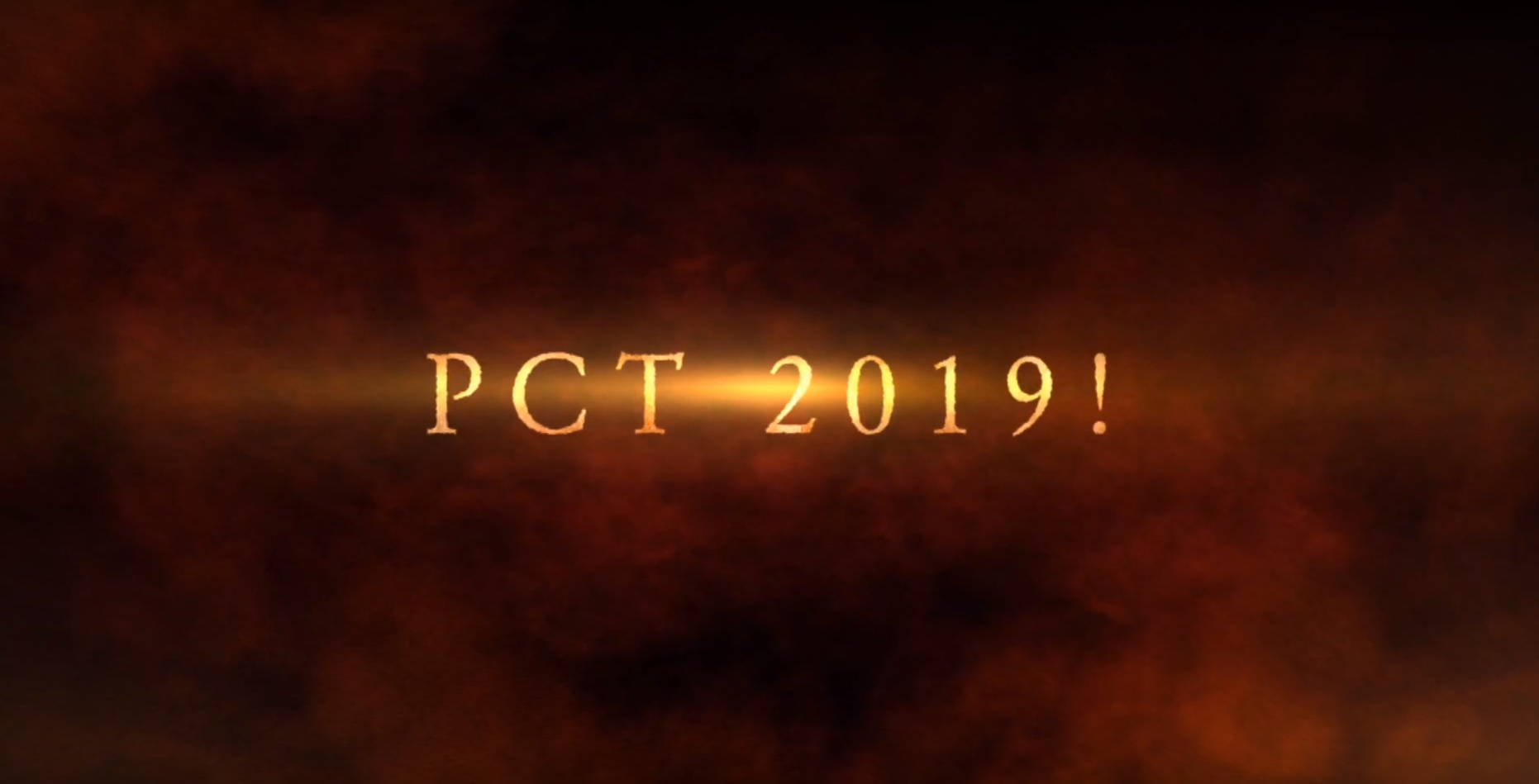 PCT 2019!